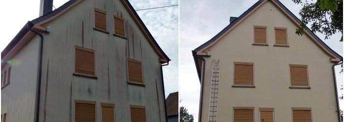 Algen Fassadenreinigung