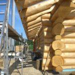 Work in Progress - Blockhaus bauen.